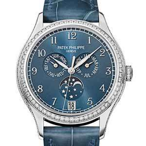 Moon Phase Watch Finder Patek Philippe 4947G 001 Automatic Watch